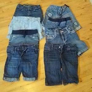 Gap Arizona Cherokee girls shorts 8 pair